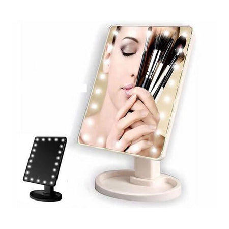 Sharper Image Large LED Mirror