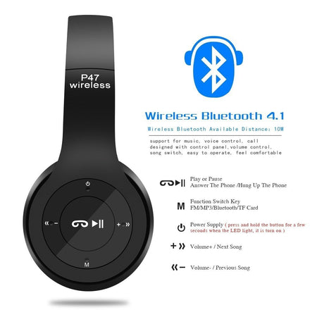 Bluetooth Wireless Headphones - Beats P47