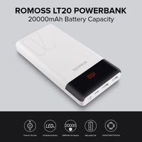 Romoss LT20 20000Mah Power Bank for Smart Phones