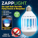 LED Anti-Mosquito Bulb and Zapp Light