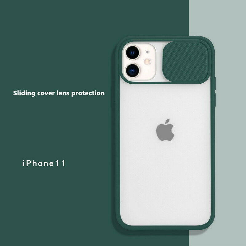 IPhone 2020 Slide Camera Protect Matte Soft Cover