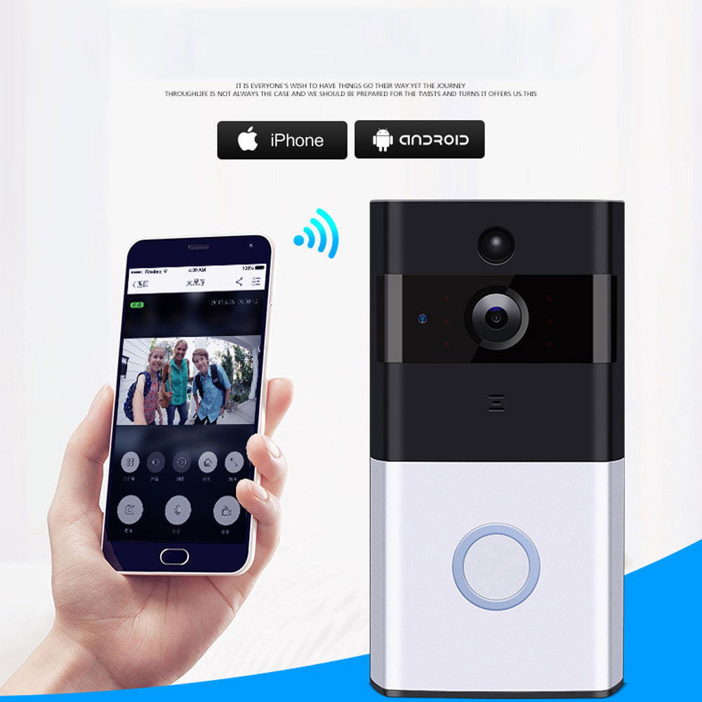 Doorbell IP Wirless With Camera Ios And Andriod