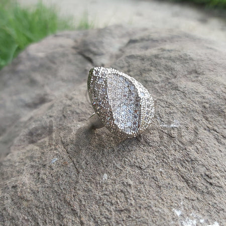 Unique Stylish Sterling Silver Ring-650020