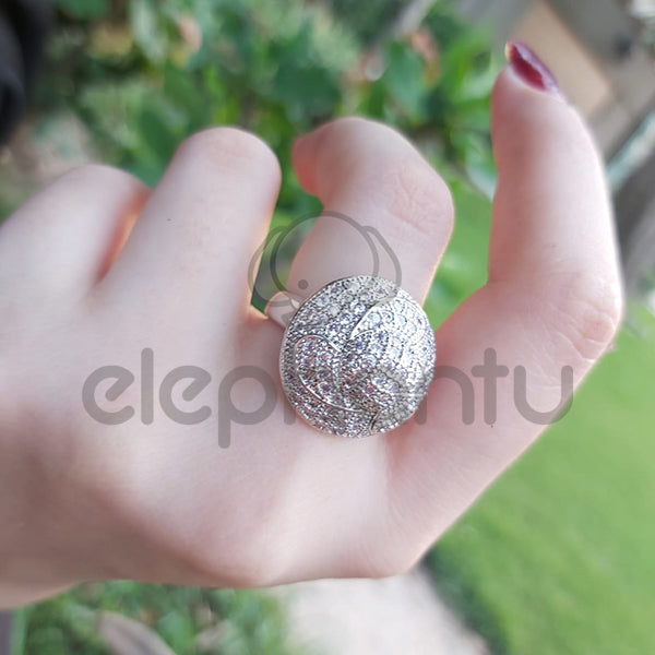 Sterling Silver Turkish Ring For Girls-650022