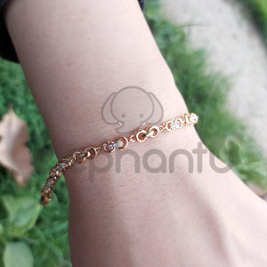 Stylish Fancy Party Wear Adjustable Bracelet For Girls-660027