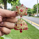 Antique Lightweight Designer Jhumka Earrings-540022