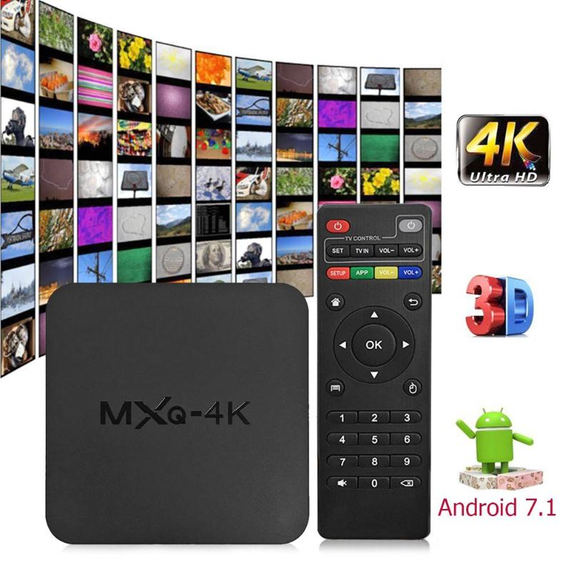 Android Smart Tv Box Mxq 4k Quad Core 1g+8g