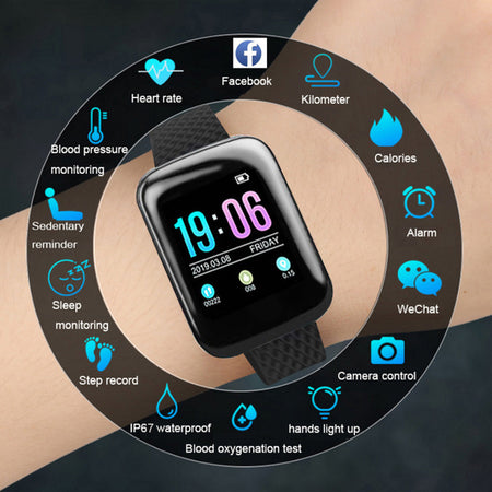 D13 Blood Pressure Monitor Smart Band