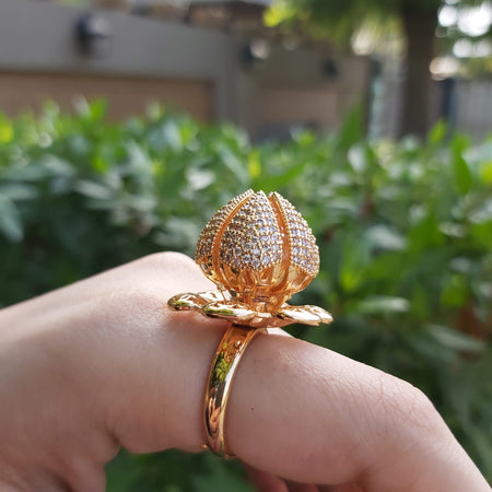 Stylish Bloom Flower Ring