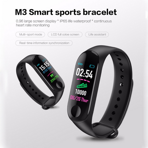 M3 Pro Bluetooth Waterproof Smart Watch