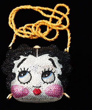 Limited Edition Kathrine Baumann Swarovski Crystal Betty Boop Evening Purse