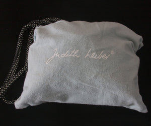Judith Lieber – Evening Silk Purse/Bag with Swarovski Crystal Straps