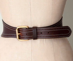 Ted Baker London, Stunning Form Fitting Leather Waist Belt