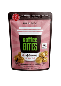 PR Salted Caramel Coffee Bites - 2.4 OZ - Pure Food by Estee