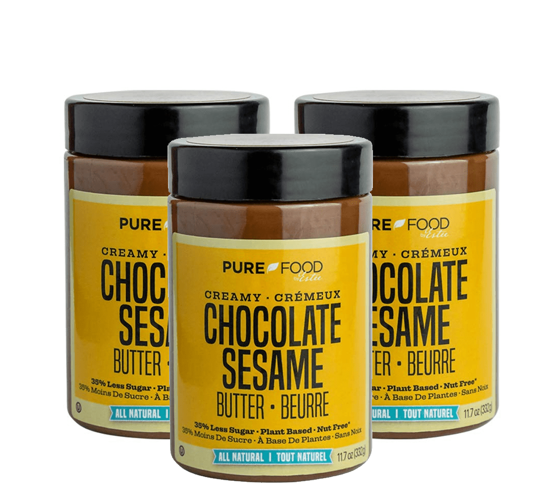 3 Pack Chocolate Sesame Butter - Pure Food by Estee