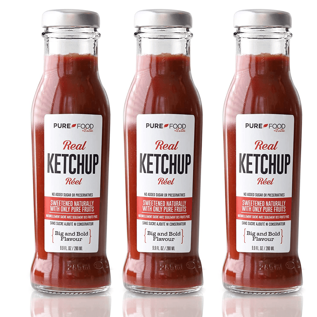 3 Pack - Real Ketchup - Pure Food by Estee