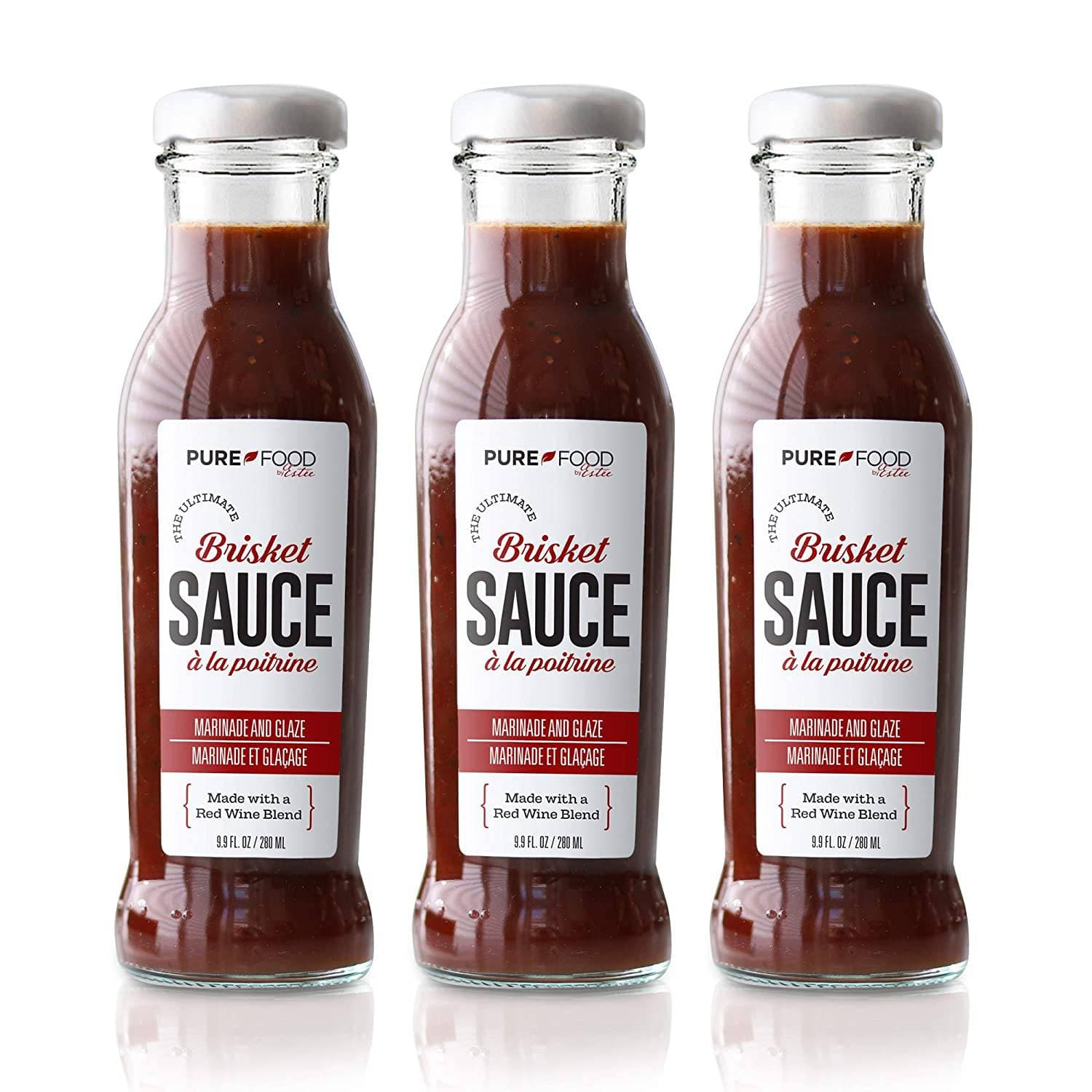 3 Pack - Ultimate Brisket Sauce - Pure Food by Estee