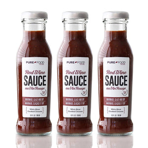3 Pack - Ultimate Red Wine Sauce - Pure Food by Estee