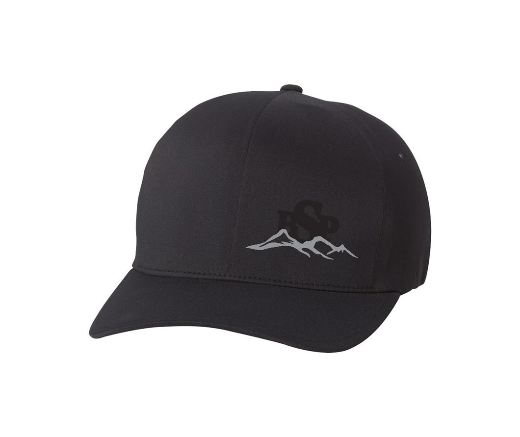 Backcountry Sled Patriots Flexfit Cap logo left panel