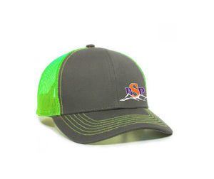 Backcoutry Sled Partiots neon cap