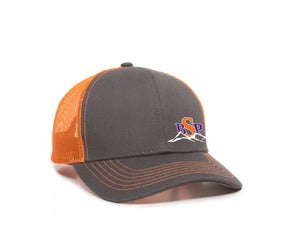 Backcoutry Sled Partiots neon orange cap