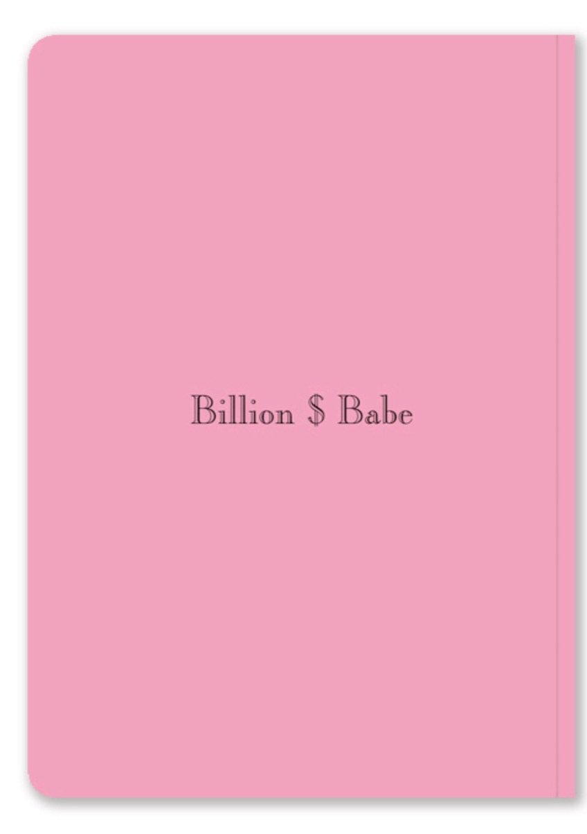 """BILLON $ BABE"" Manifestation Journal"