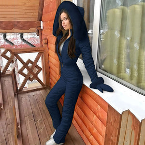NEW - Women Ladies Girls Winter Jumpsuit Ski Snowboard Snow Suit One Piece