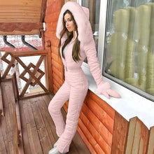Load image into Gallery viewer, NEW - Women Ladies Girls Winter Jumpsuit Ski Snowboard Snow Suit One Piece