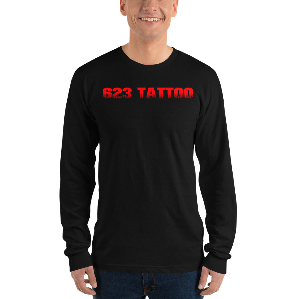 Unisex Predator Logo Long sleeve t-shirt