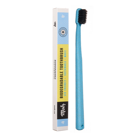 The Evenly Product Shop - MOLR - Charcoal Infused Toothbrush