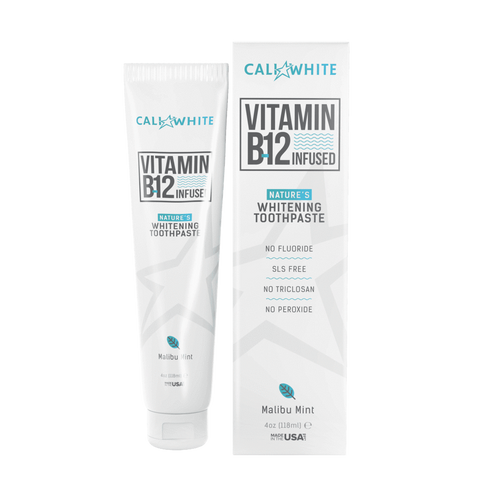 Vegan B12 Teeth Whitening Toothpaste