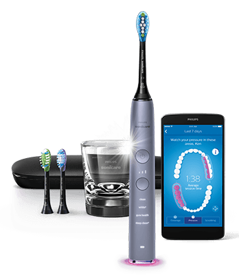 DiamondClean Electric Toothbrush - Cashmere Grey
