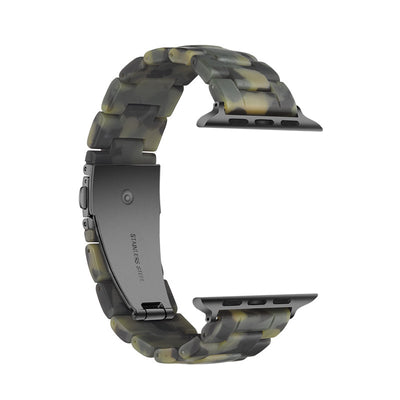 Camo Resin Apple Watch Bands