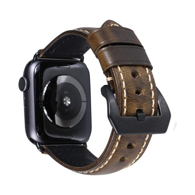 Vintage Sweatproof Genuine Leather Apple Watch Bands