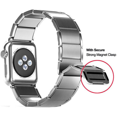 Stainless Steel Magnetic Apple Watch Bands