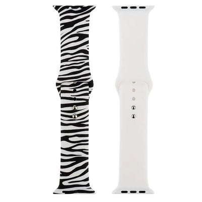 Active Silicone Print Apple Watch Band