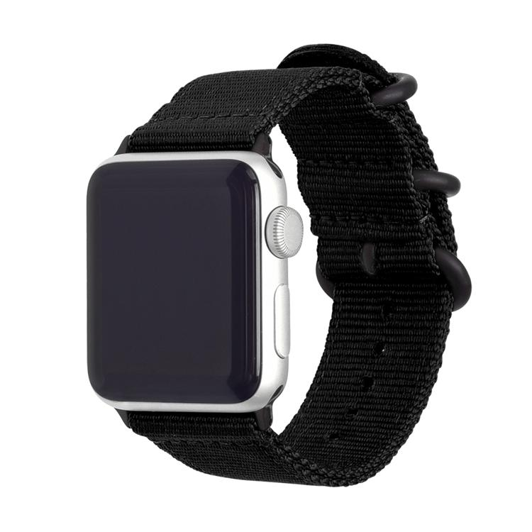 army green nylon apple watch band