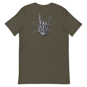 BIG ROCK HAND - FRONT & BACK - Unisex Tee