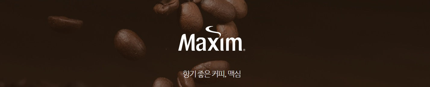 MAXIM ORIGINAL COFFEE MIX 20PCS CAFE 240g