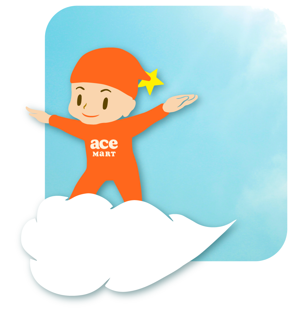 acefood-acemart-company-character