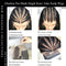 SHY New Arrival Single Knot 5.0 13*6 Lace Front Bob Wigs Fake Scalp Human Hair Black HD Lace Wigs With Bang