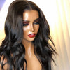 Cheap Brazilian Body Wave Human Hair Wigs Natural Black Fake Scalp Lace Front Wigs With Free Shipping