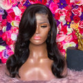 Good Quality Body Wave Lace Front Wig 100% Brazilian Virgin Human Hair Wigs With Baby Hairs Free Shipping