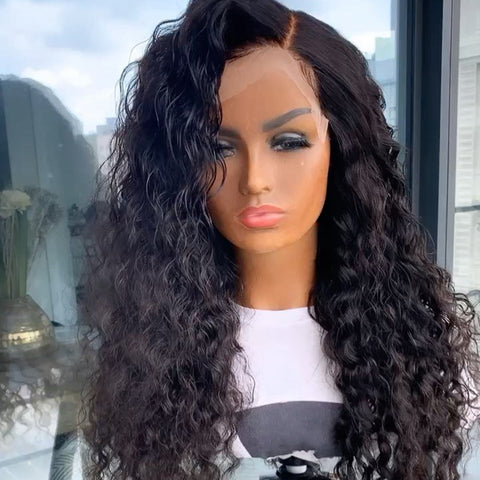Cheap Brazilian Human Hair 13*6 Single Knot Lace Front Wigs Pre Plucked Hairline With Baby Hairs For Black Women