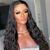 Glueless Natural Wave Lace Front Wig 100% Unprocessed Virgin Human Hair Wigs With Bleached Knots On Sale