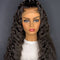New Arrival Affordable 5.0 Single Knot Black Deep Wave 13*6 Lace Front Wigs Preplucked Hairline With Elastic Band