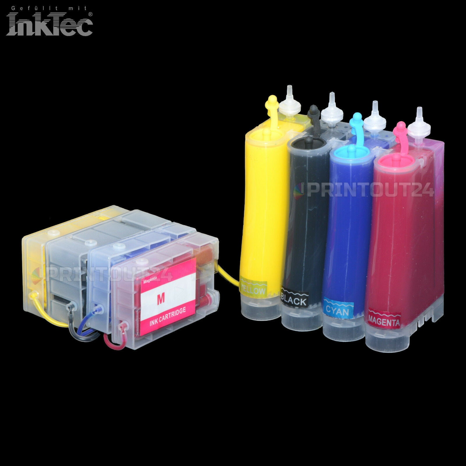 CISS InkTec Tinte ink quick fill in für CANON Maxify MB2300 MB2350 MB2750 MB2755