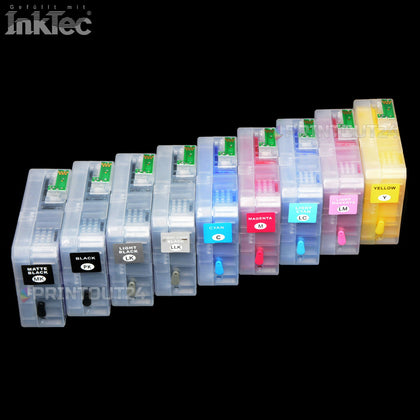 CISS InkTec® SUBLIMATION Tinte refill ink für Epson Stylus Pro 3800 3850 NON OEM