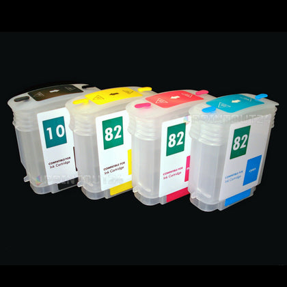 mini CISS für HP 10 82XL refill cartridge DesignJet 500 800 PLUS 815 820 MPF PS