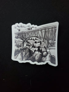Foresthill Bridge Sticker